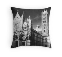 Sienna Cathedral IR Throw Pillow