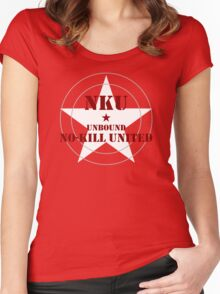 NO-KILL UNITED : UB-MWG Women's Fitted Scoop T-Shirt