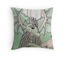 Guardian of the Earth (2) Throw Pillow