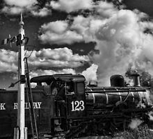 Engine 123.................... by Gordon Pressley