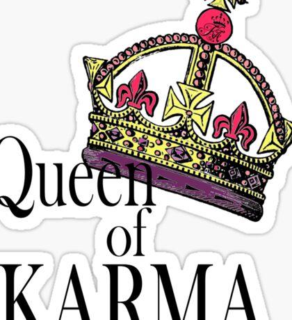 Queen of KARMA Sticker