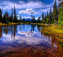 Lost Lake by Charles & Patricia   Harkins ~ Picture Oregon