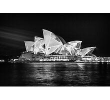 Vivid Lights 4 Photographic Print