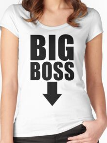 Big Boss Women's Fitted Scoop T-Shirt