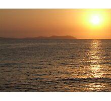Sunset @ San Antonio Photographic Print