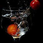 Splash of Cherry Tomato by Amy Dee