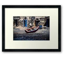 Waterfront Property Framed Print