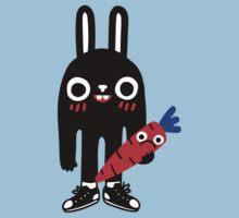 Rabbit Lunch Time Kids Tee