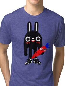 Rabbit Lunch Time Tri-blend T-Shirt