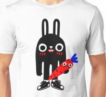 Rabbit Lunch Time Unisex T-Shirt