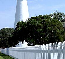 Ocracoke Island Lighthouse by Sandy Woolard