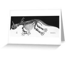 Cool Styracosaurus Greeting Card