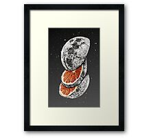 LUNAR FRUIT Framed Print
