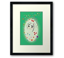 Allure Series - Candy Rush Framed Print