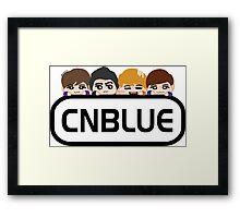 CN bLUE Framed Print