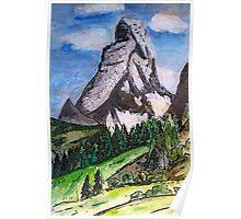 The Matterhorn Zermatt Switzerland Poster