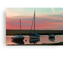 Blakeney Boats Canvas Print