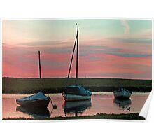 Blakeney Boats Poster