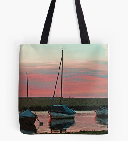 Blakeney Boats Tote Bag