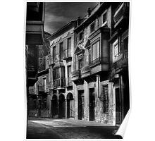 Old buildings in Orihuela Poster