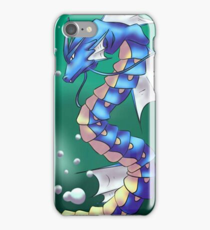 Twisting Fish Dragon iPhone Case/Skin