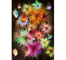 fantasy flower world Photographic Print