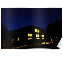 Star Gazing at Johns Brook Lodge Poster