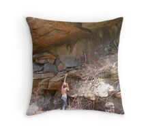 life's obstacles Throw Pillow
