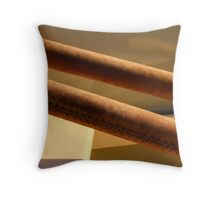 Suede  Throw Pillow