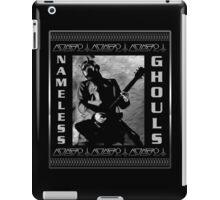 NAMELESS GHOULS PLACARD iPad Case/Skin