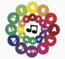 Circle of Fifths - Music Chord Chart Kids Clothes