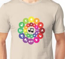 Circle of Fifths - Music Chord Chart Unisex T-Shirt