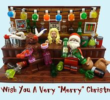 We Wish You A Very Merry Christmas  by minifignick