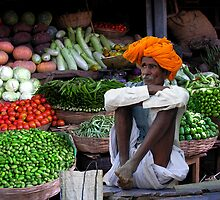 VEGETABLES - RAJASTHAN by Michael Sheridan