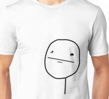 Poker Face (notext) Unisex T-Shirt
