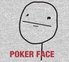 Poker Face One Piece - Long Sleeve