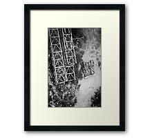 Cross Section A Framed Print