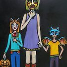 Little Creatures (Halloween). by Thea T