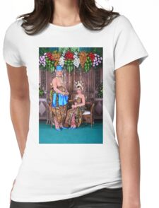 wedding 3 Womens Fitted T-Shirt