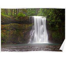 Upper North Falls (Salem, Oregon) Poster