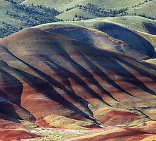 Painted Hills (John Day Fossil Beds, Oregon) by Brendon Perkins