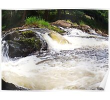 fish eye streams Poster