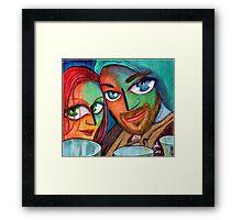 renaissance fair Framed Print