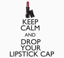 Lipstick Cap Tee by Team Hopia Designs