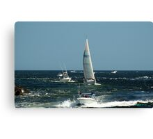 Boats! Canvas Print