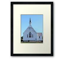 Geeveston Community Church, Tasmania Framed Print