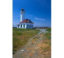 Point Wilson Light House (Washington) Photographic Print