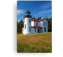 Admiralty Point Light House (Washington) Canvas Print