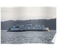 Whidby Island Ferry (Washington) Poster