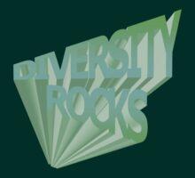 Diversity Rocks-Iced T-Shirt